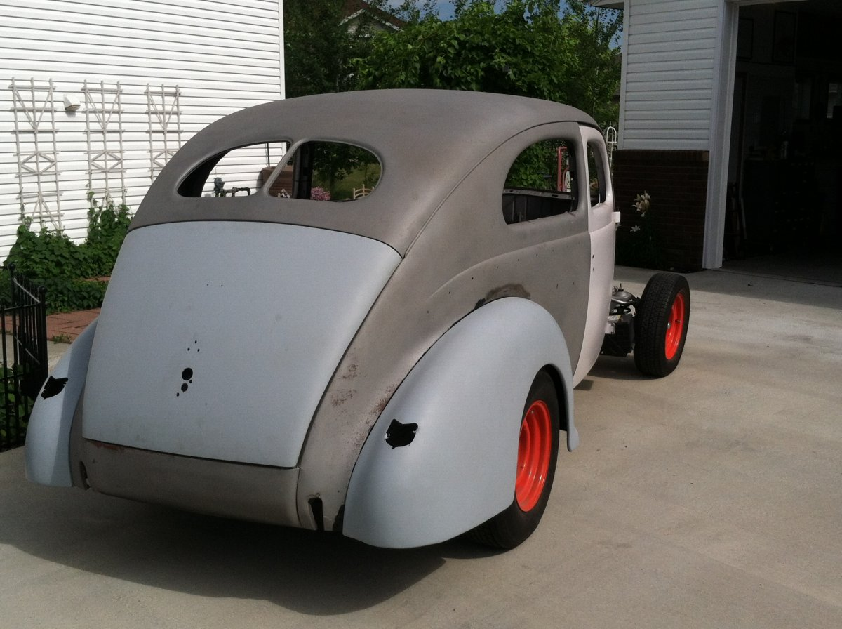 1940 Ford Deluxe 2 Door Sedan Project The H A M B