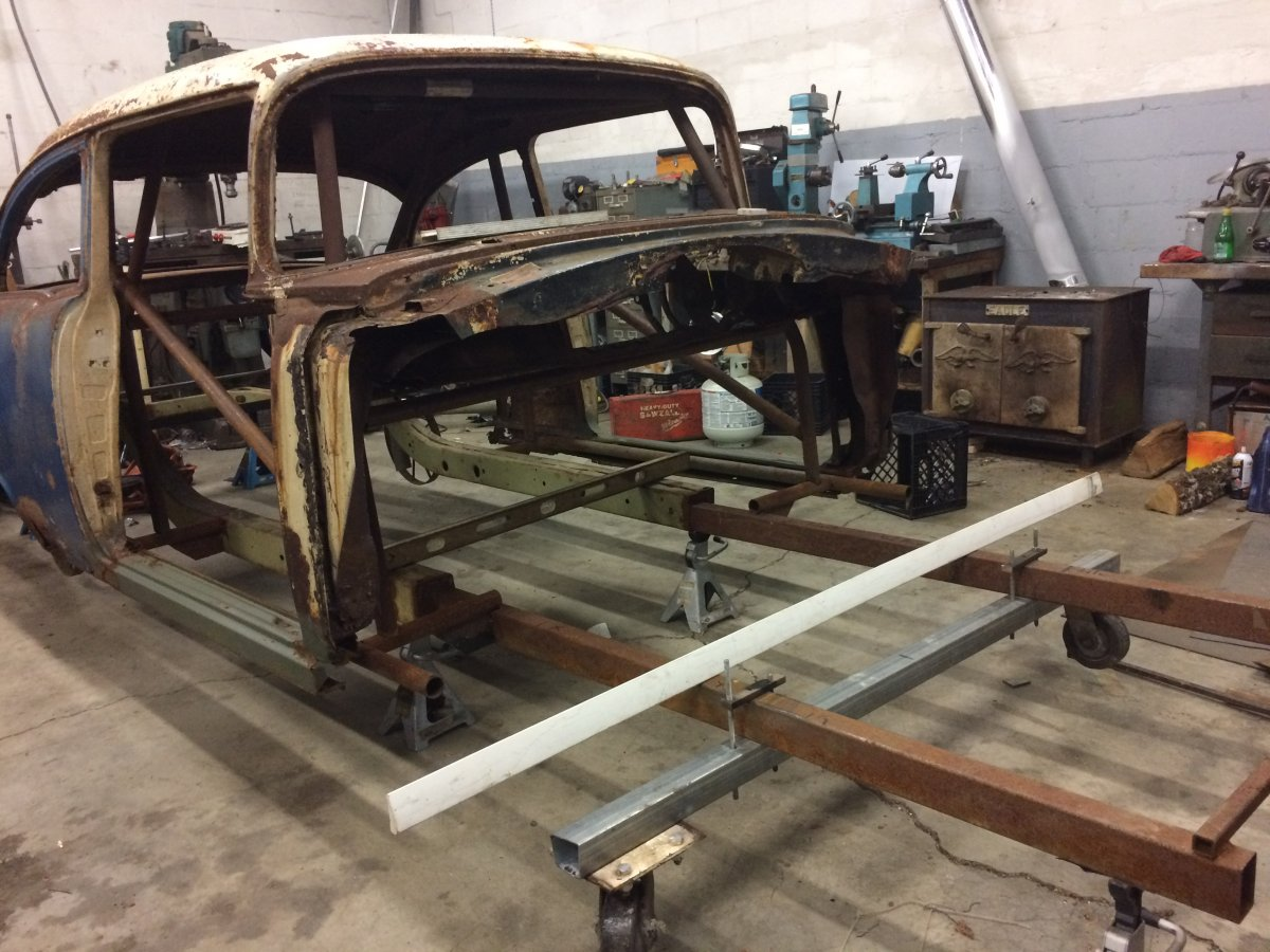 Projects - 1955 Chevy Southeast Gassers Build | The H A M B