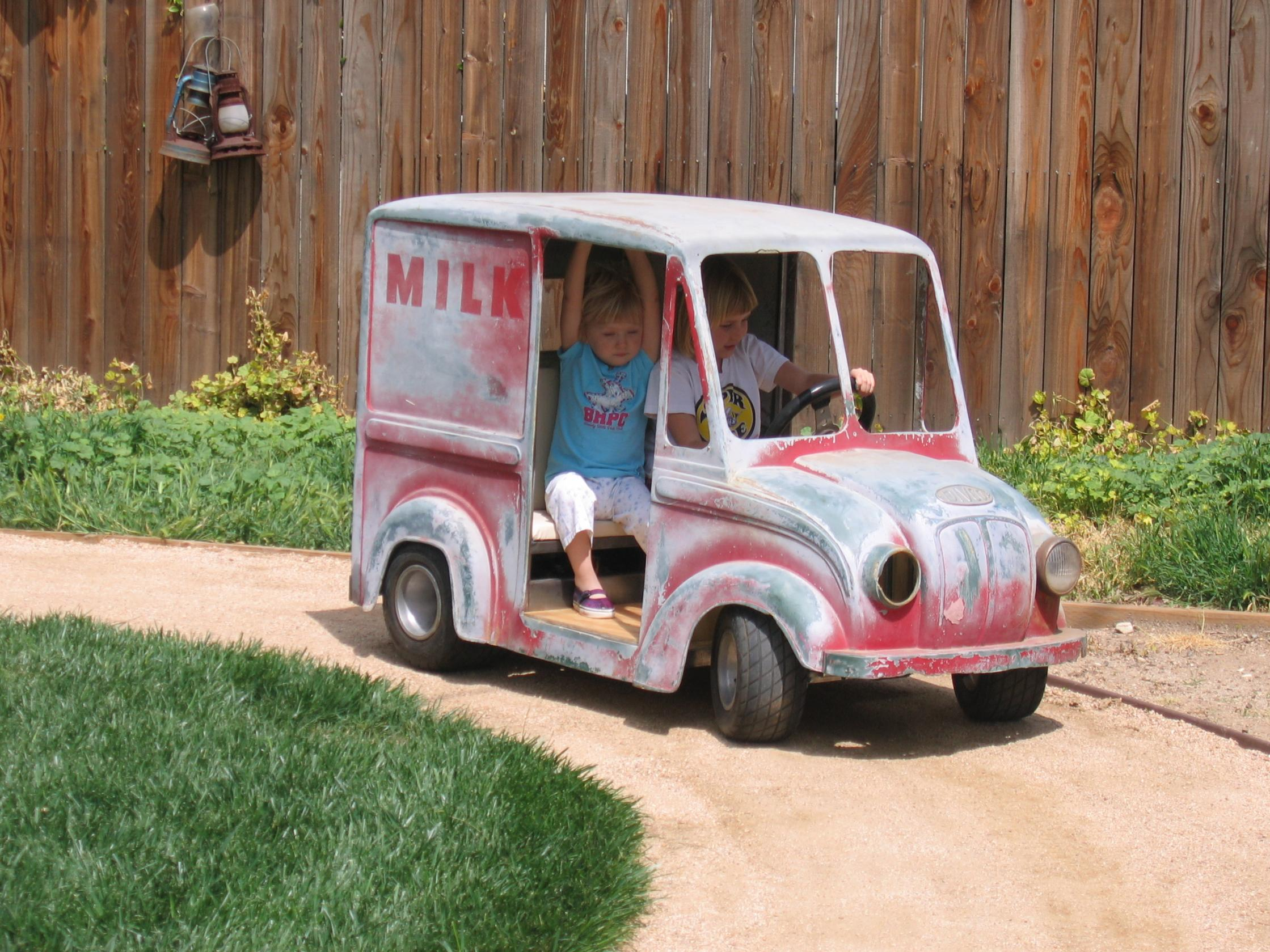 Projects - Mini Divco Vintage Go Kart Update   The H A M B