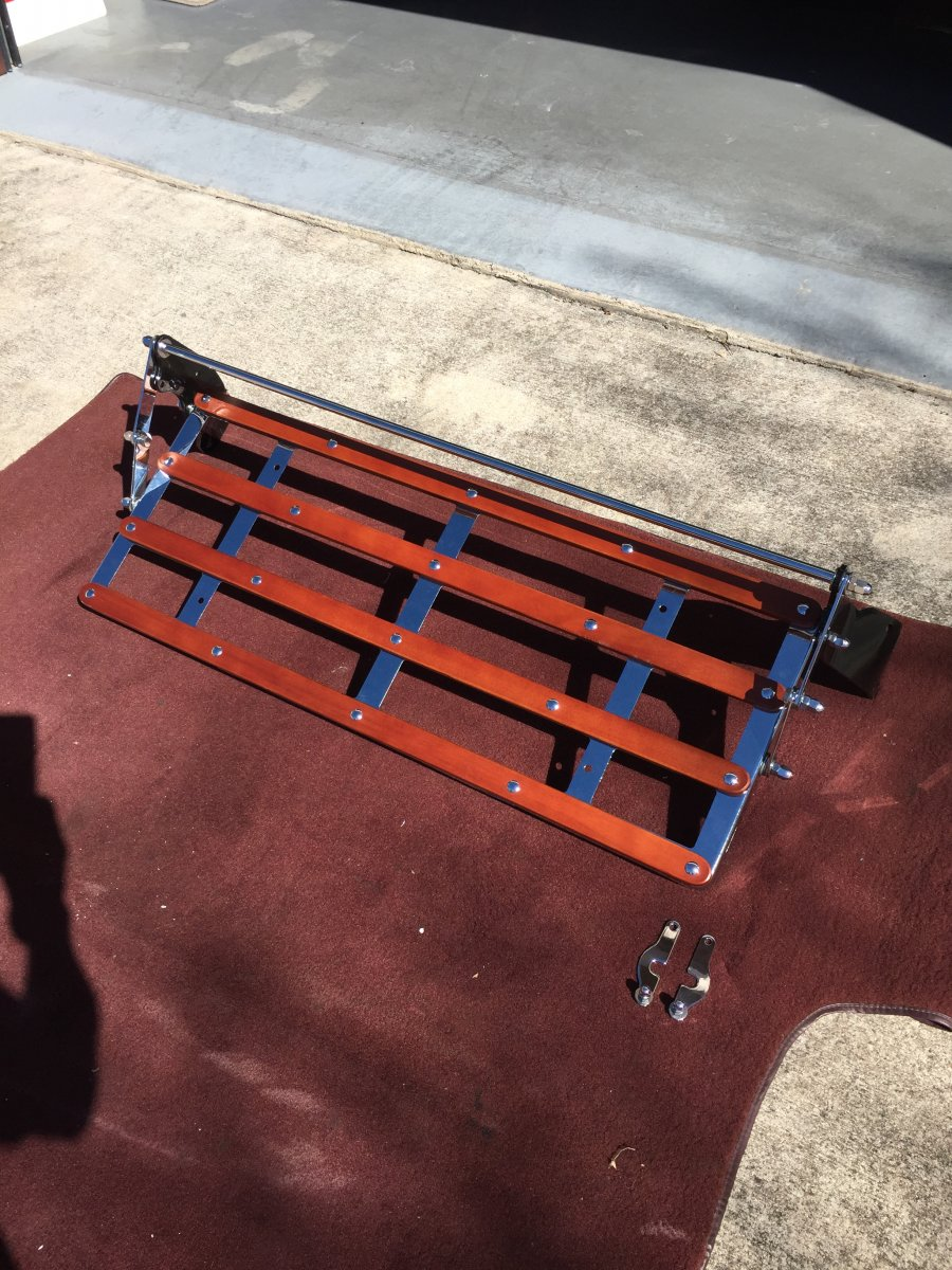 1932 33 34 Ford Or Model A Rear Luggage Rack New Cheap