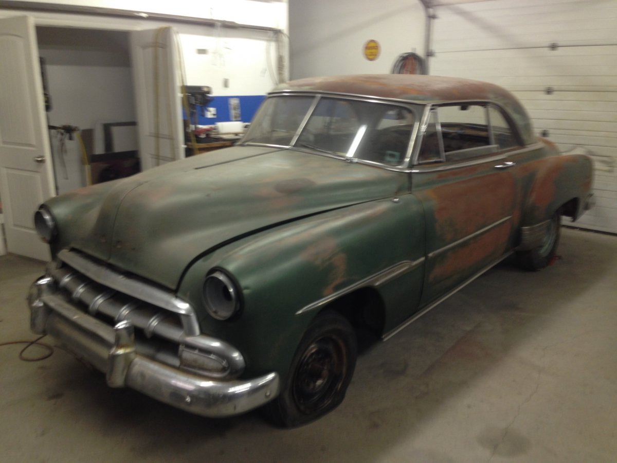 Coupe 1951 chevy coupe parts : Projects - 1951 Chevy Bel Air gasser style Hot Rod build | The ...