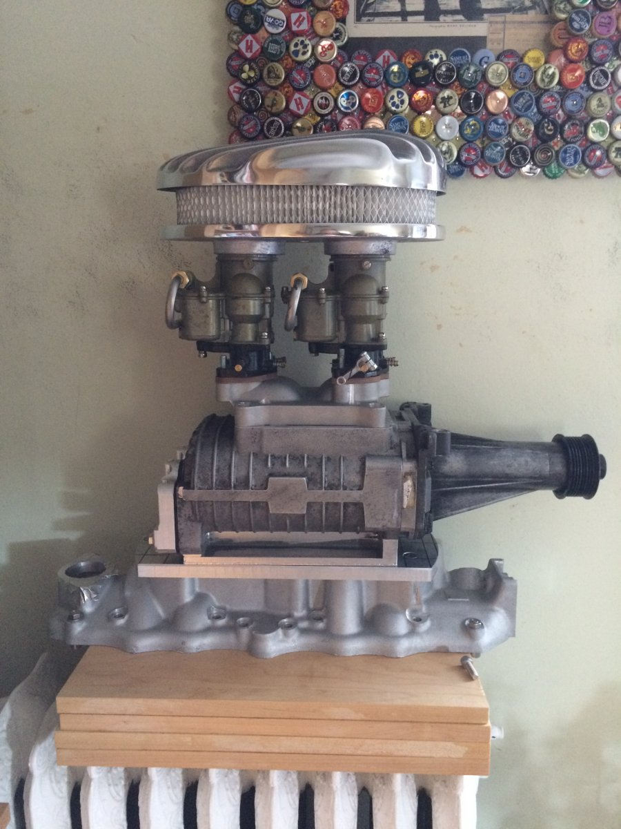 Technical - Eaton supercharger conversion to top carb mount