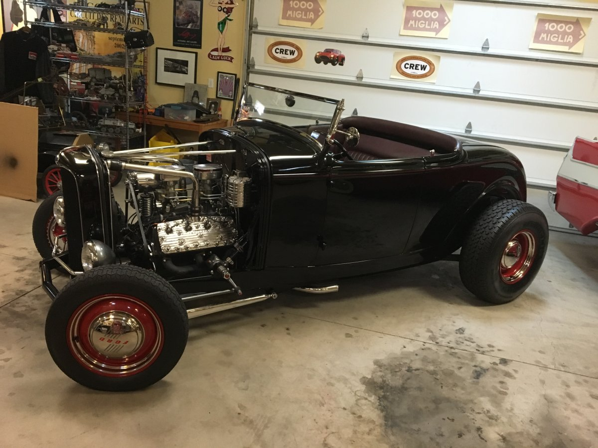 1932 Old School Ford Roadster | The H.A.M.B.