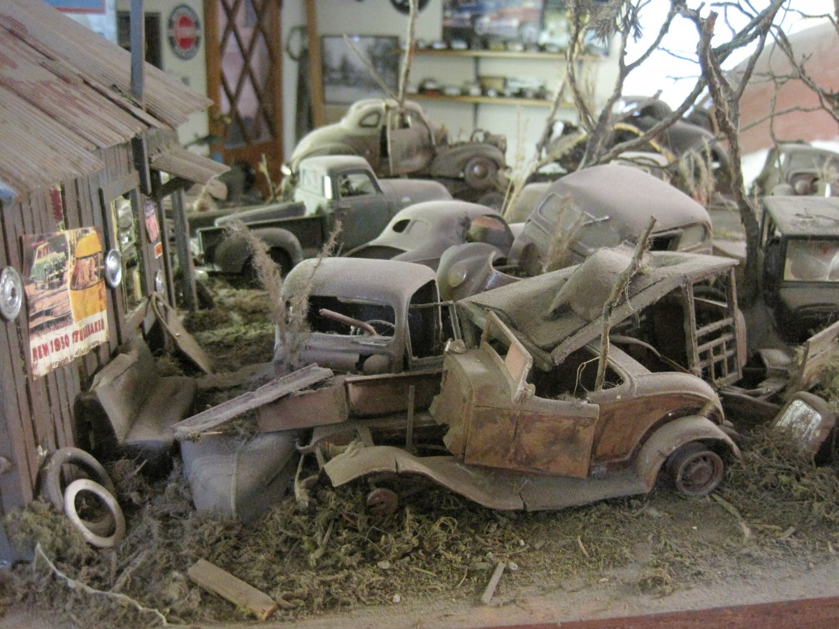 Art & Inspiration - long lost 1940\'s junk yard just found ...