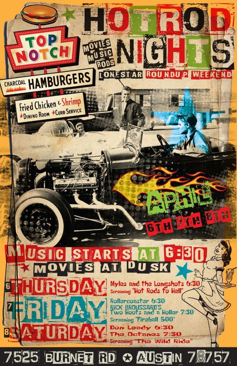 LSRU Hot Rod Nights at Top Notch Hamburgers! | The H.A.M.B.