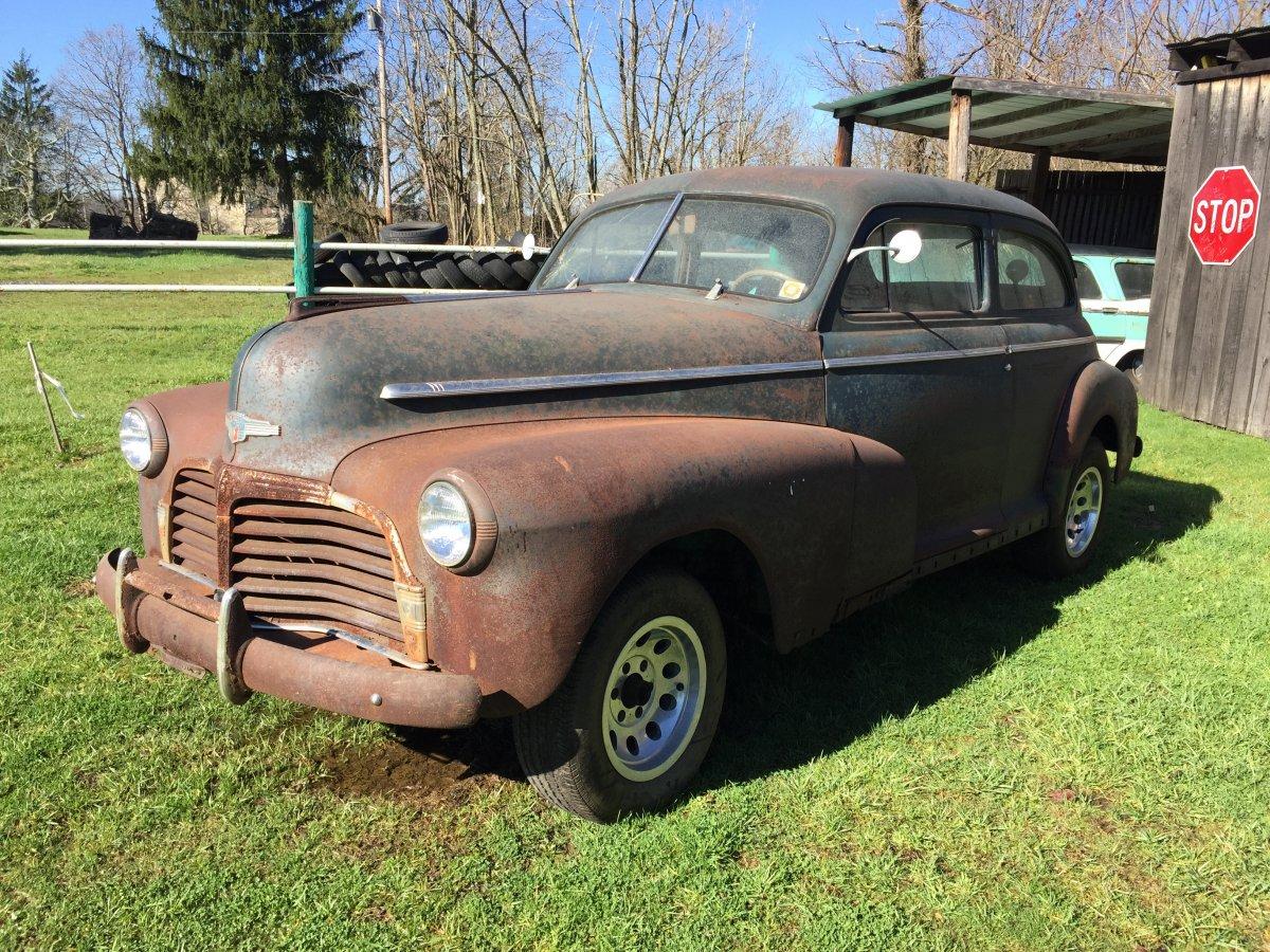 1942 Pre War Chevrolet Deluxe 2 Door The Hamb Chevy Coupe Img 1770