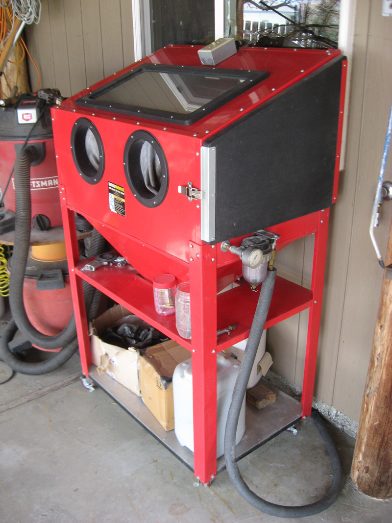 Projects - HF blast cabinet | The H.A.M.B.