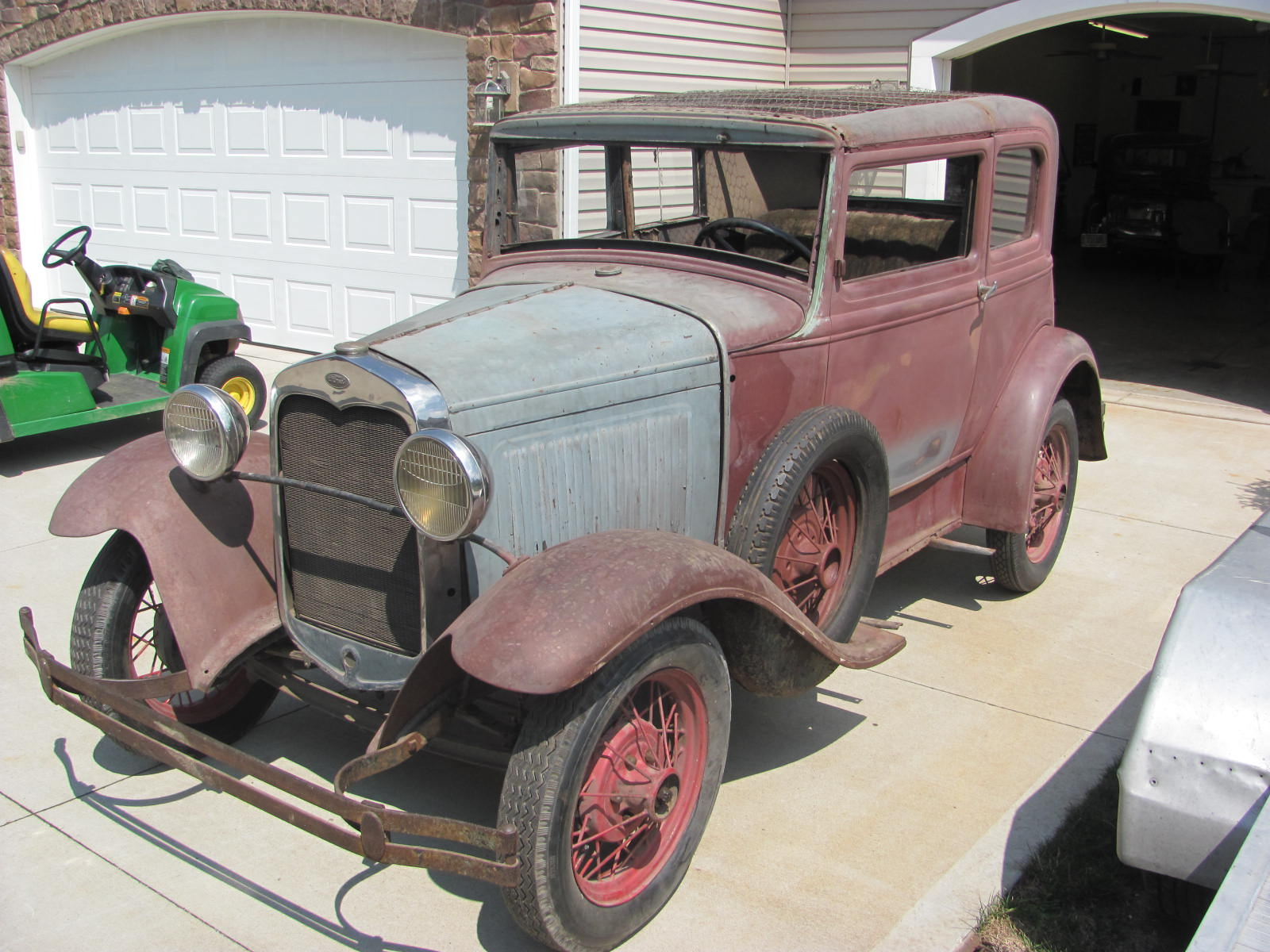 1931 FORD MODEL A VICTORIA PROJECT | The H.A.M.B.
