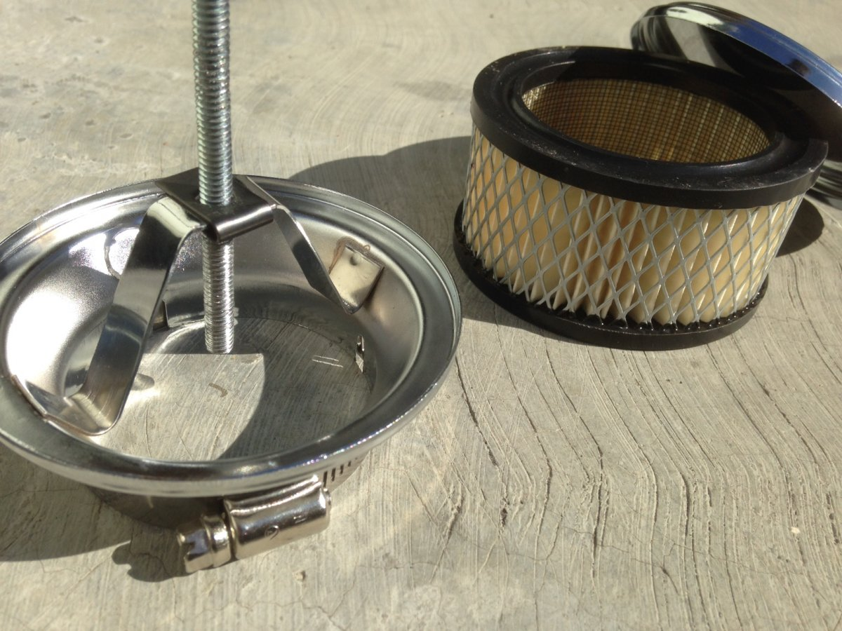 Air Cleaner Stud : Technical oil bath air cleaner to paper element