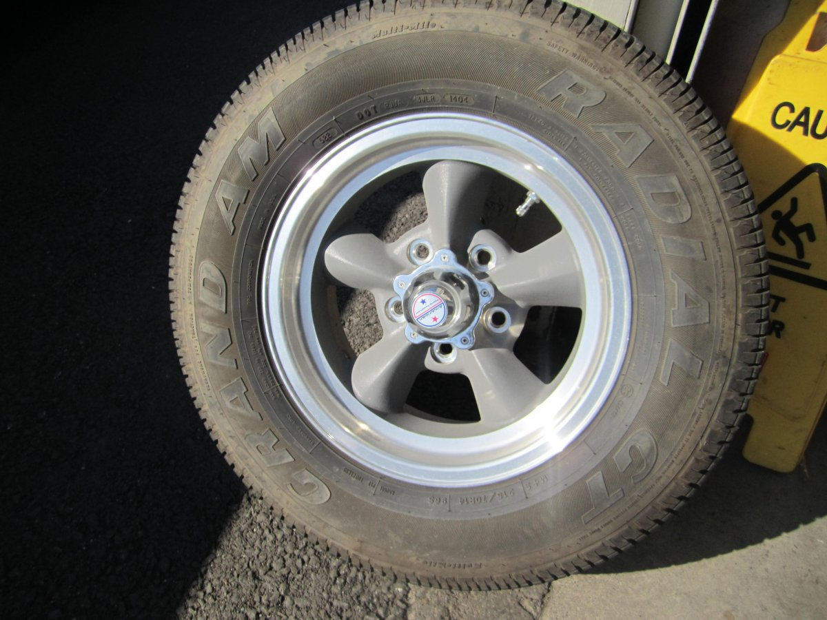 4 American Racing Torque Thrust D Wheels With Tires 5x4