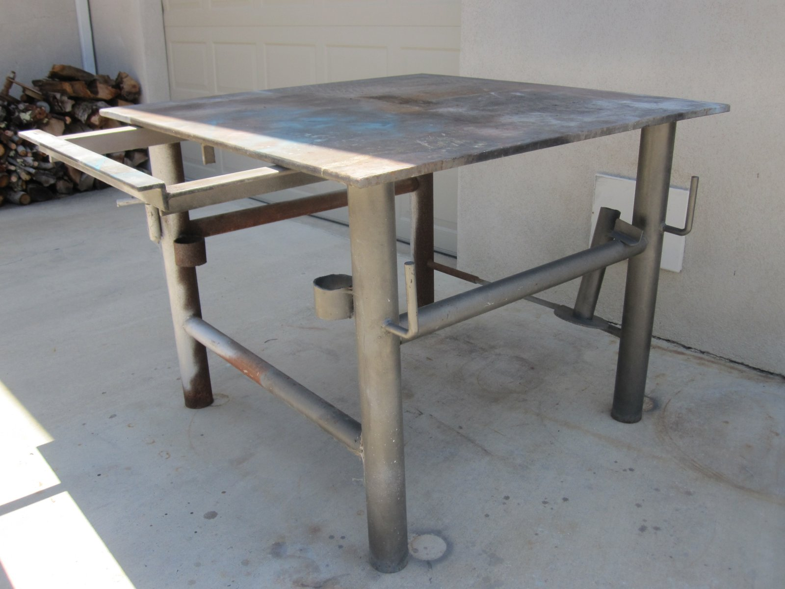 Welding Table For Sale 400 SOLD The HAMB
