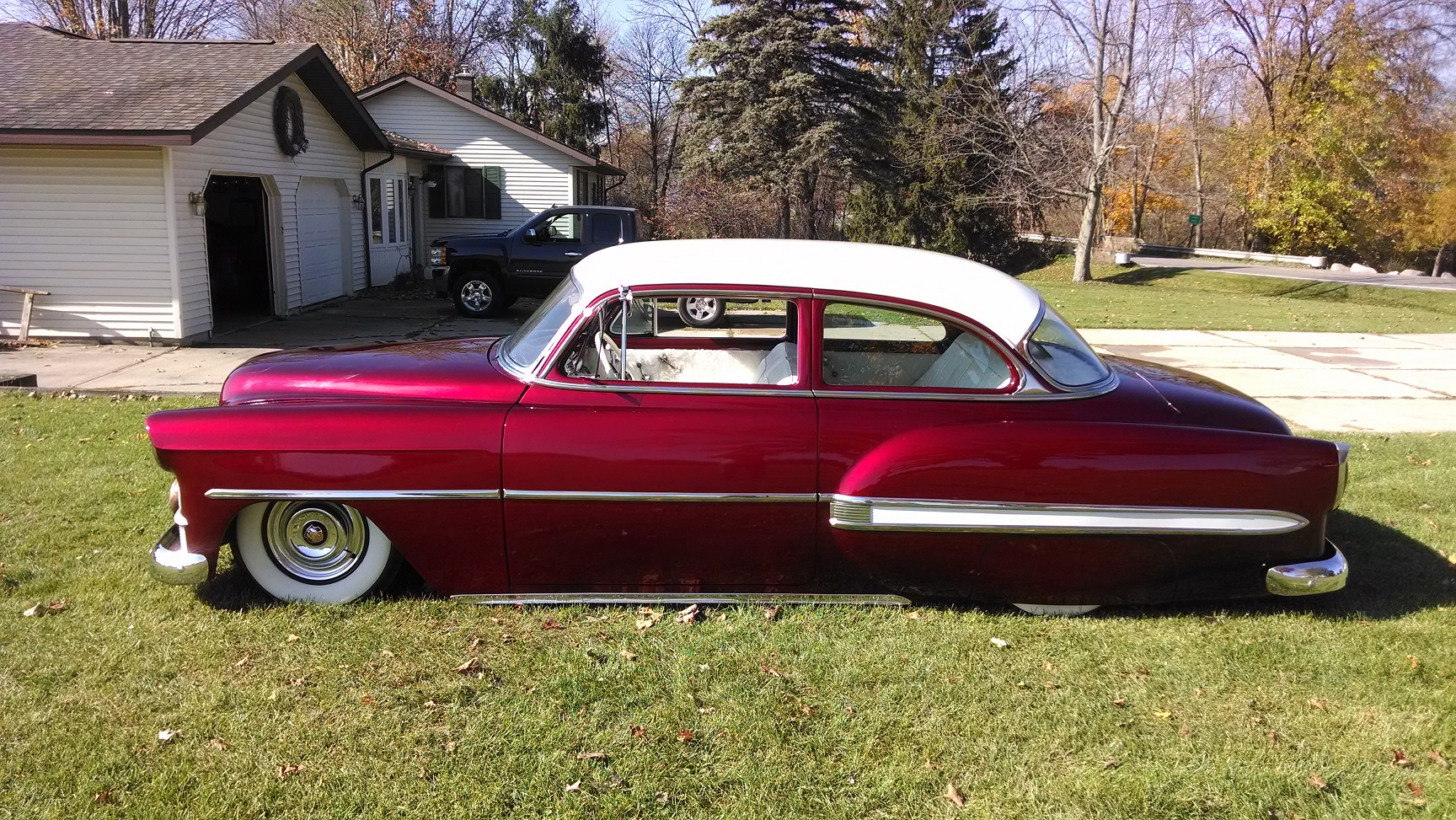 1953 Chevy Bel Air Mild Custom, Bagged, Candy PRICE DROP 17500 | The H.A.M.B.