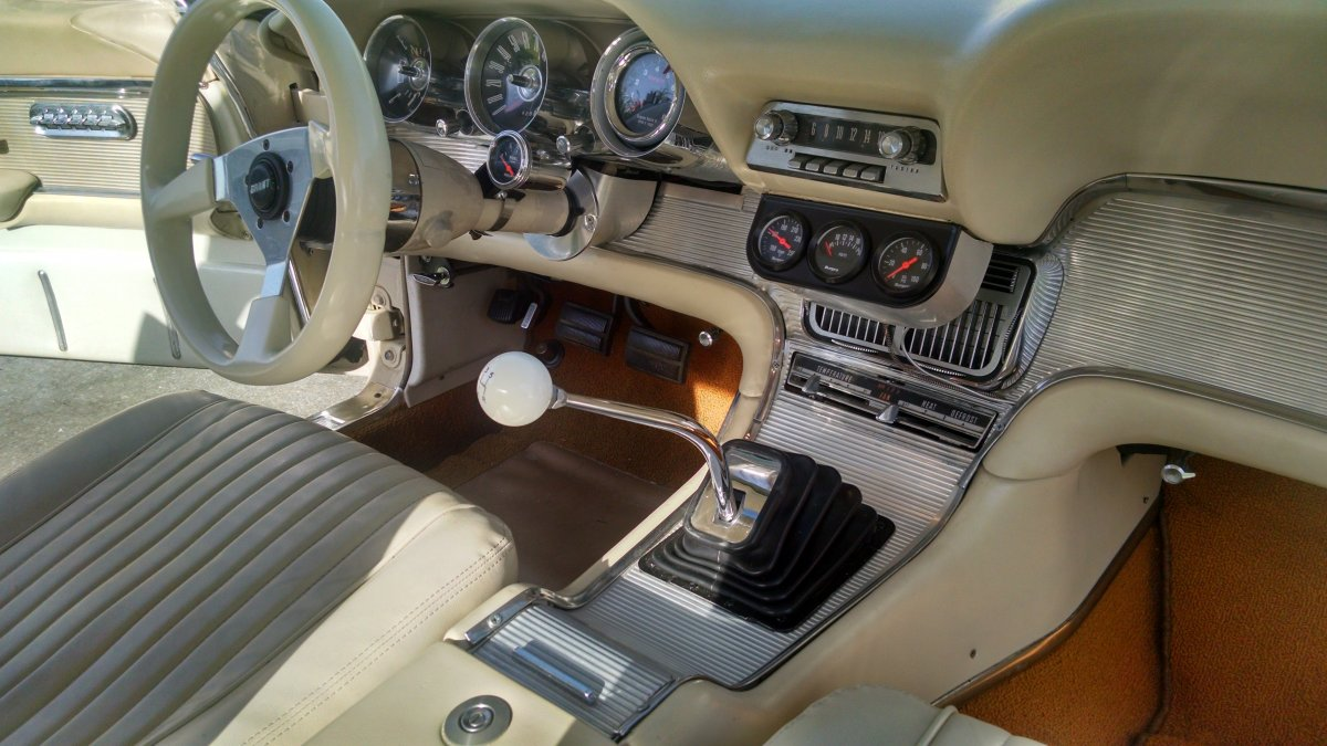 ford thunderbird manual transmission