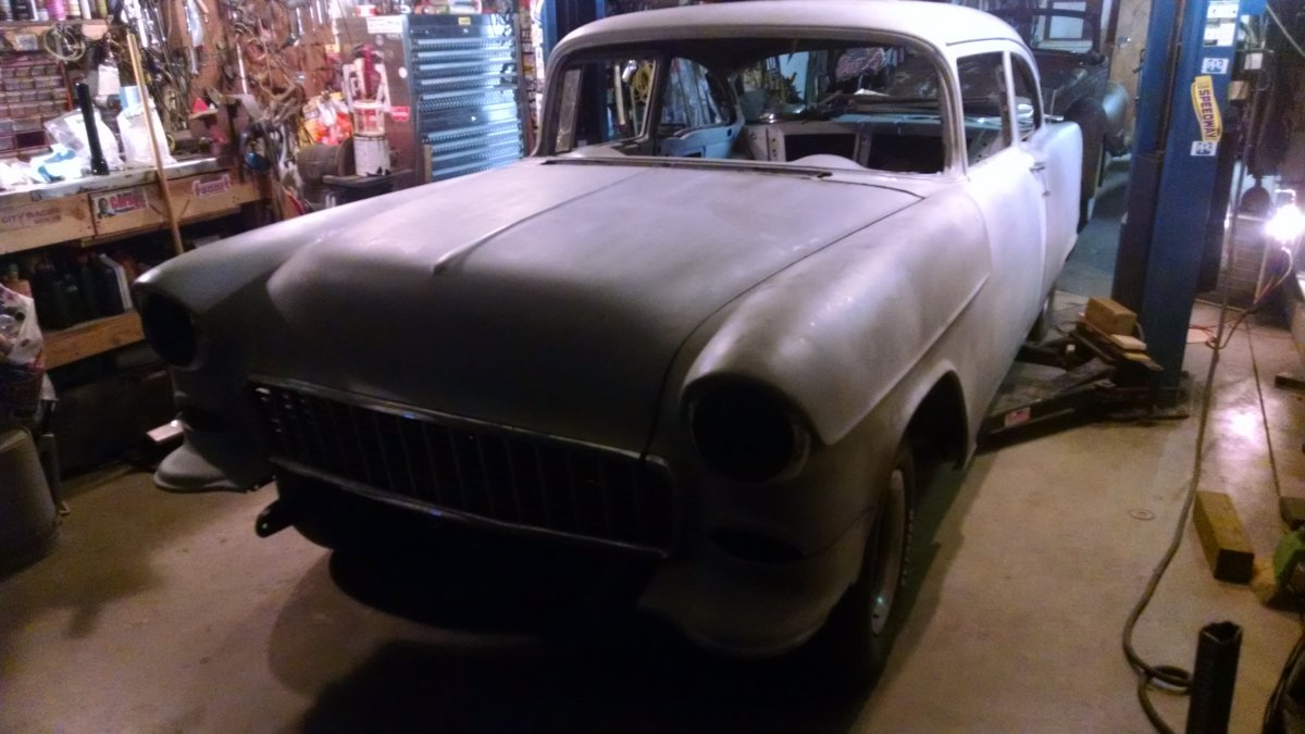 two 55 Chevy projects for sale | The H A M B