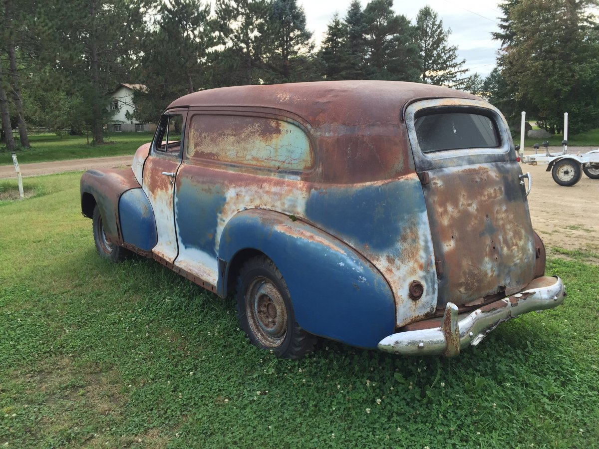 Forest Lake Chevrolet >> 1948 Chevrolet Panel truck | The H.A.M.B.