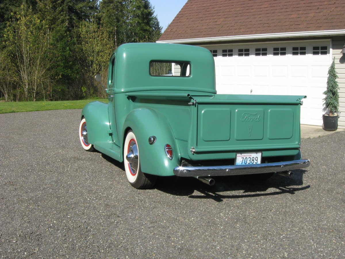 Technical 1938 1941 Ford Pickup Rear Bumper Yes Or No The Truck Img 2748