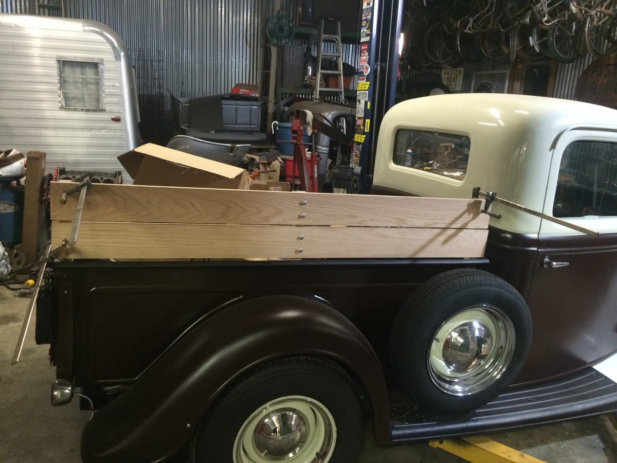 Projects The Legrange Produce Tribute Truck Build Page