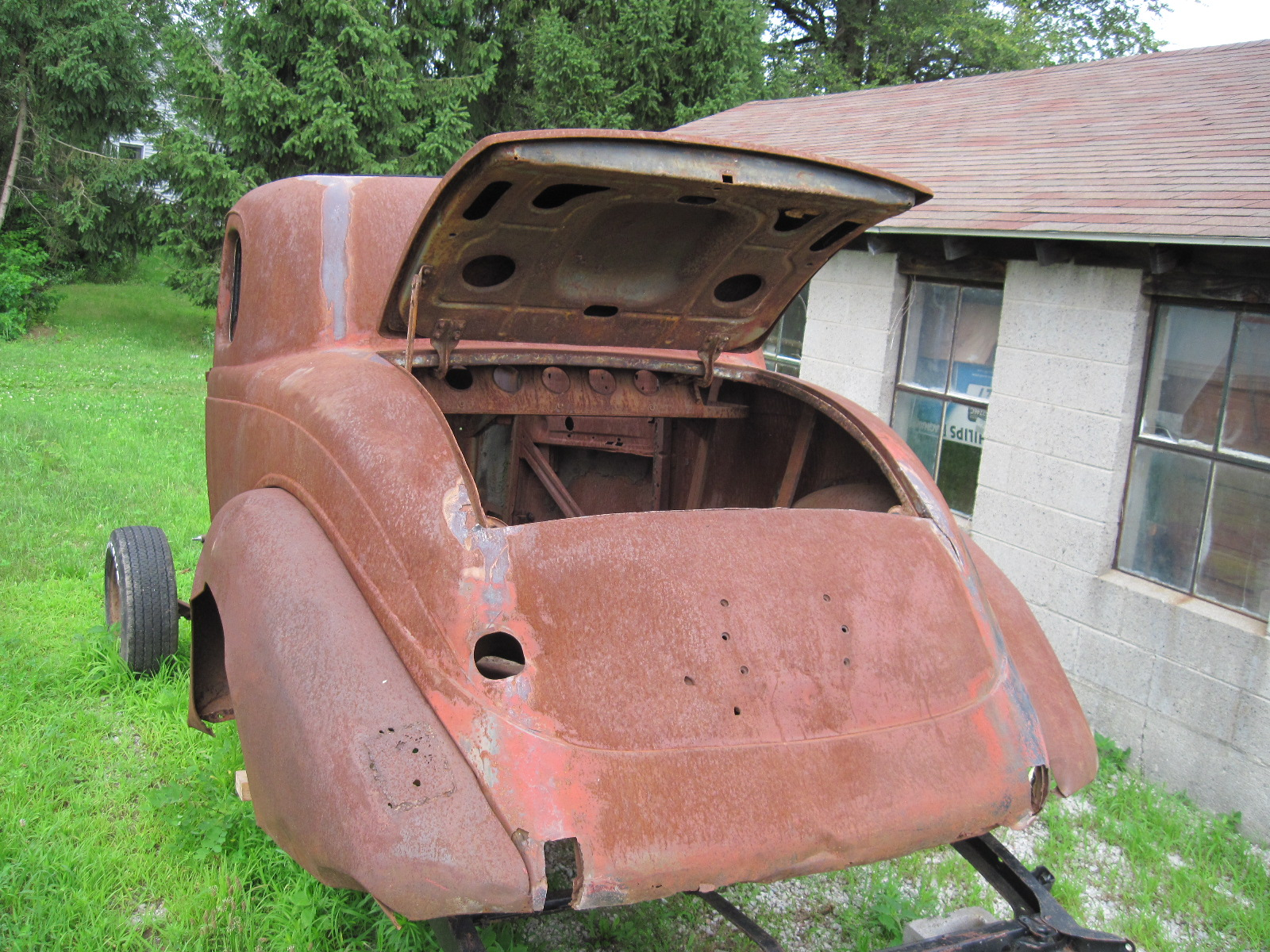 1935 Plymouth Coupe REDUCED PRICE $2000