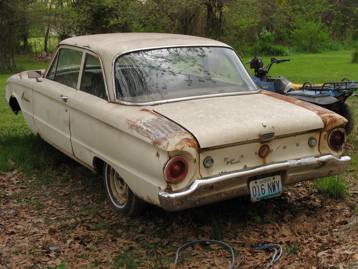 1961 Ford Falcon 2 Door Shell Parts Car Sold The H A