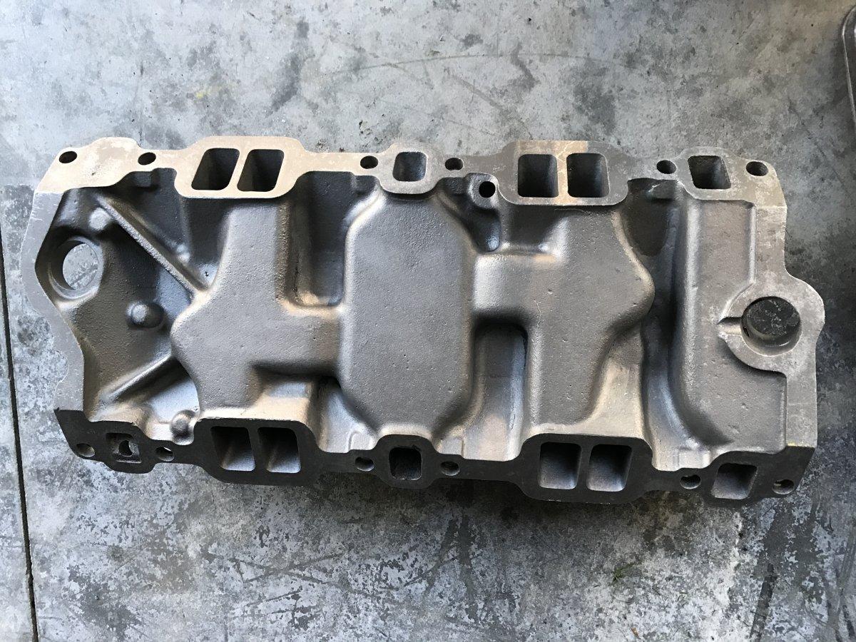 Edelbrock C355 tri power for SBC | The H A M B