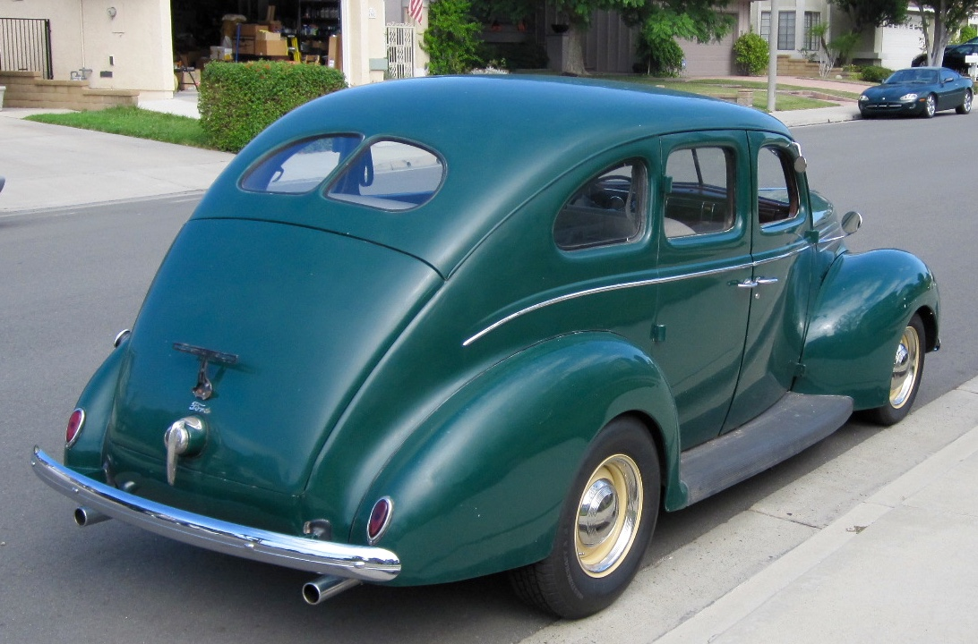 1939 ford 4 door sedan great driver the h a m b. Black Bedroom Furniture Sets. Home Design Ideas