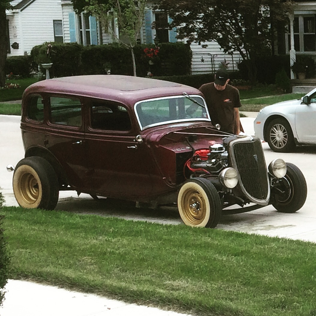 1934 FORD SEDAN HOT ROD SURVIVOR....SOLD | The H.A.M.B.