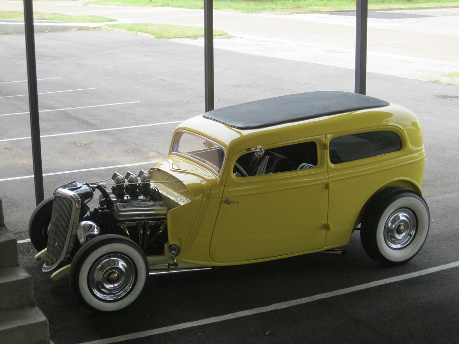 1934 ford bonneville hot rod the h a m b for Garage ford bonneville