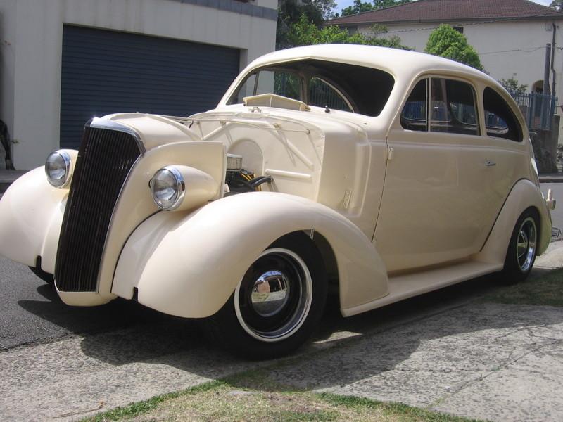 Customs - 1937 Chevrolet sloper | The H.A.M.B.