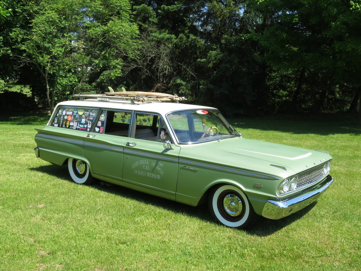 1963 Ford Fairlane 500 Wagon SOLD