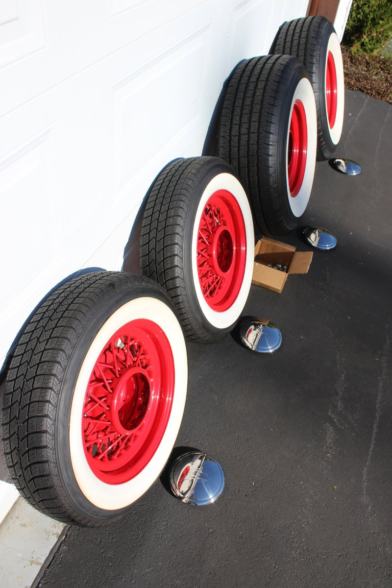 Hot Wheels Tires >> Hot Rod wire wheels & white wall tires | The H.A.M.B.