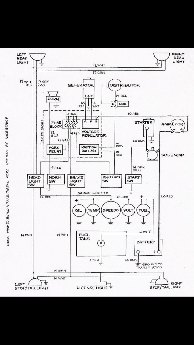pertronix wiring diagram sbc hot rods 302 ignition wiring  the h a m b  hot rods 302 ignition wiring  the h
