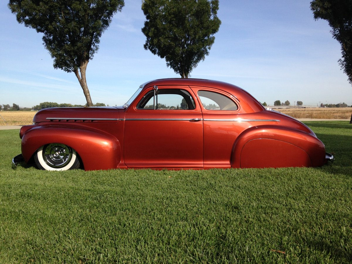1941 Chevy Deluxe Coupe Mild Kustom Bagged | The H A M B