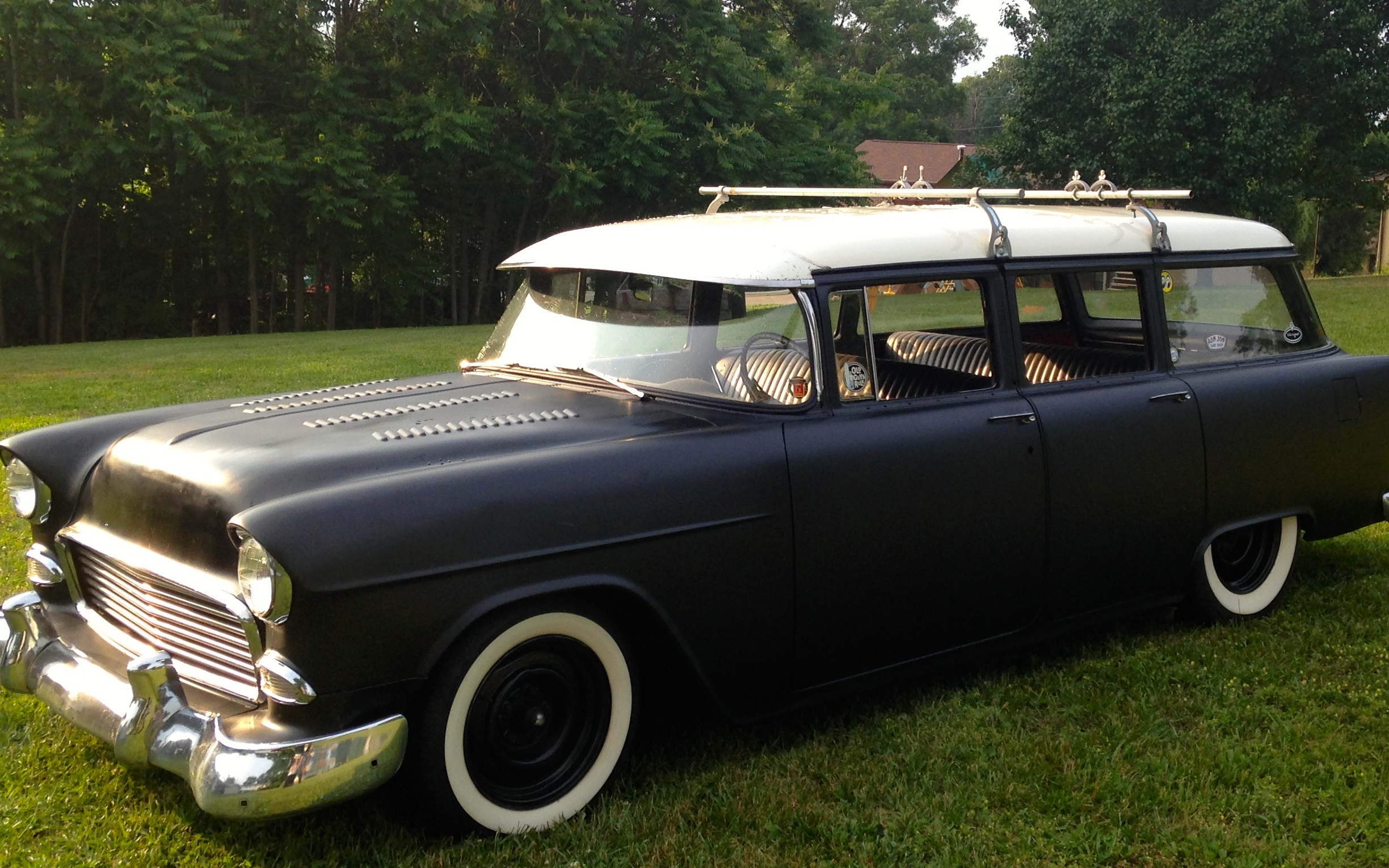 1955 Chevy 4dr Station Wagon The H A M B
