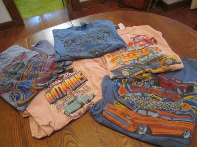 Projects new life for old car shirts the h a m b for T shirt printing brandon fl