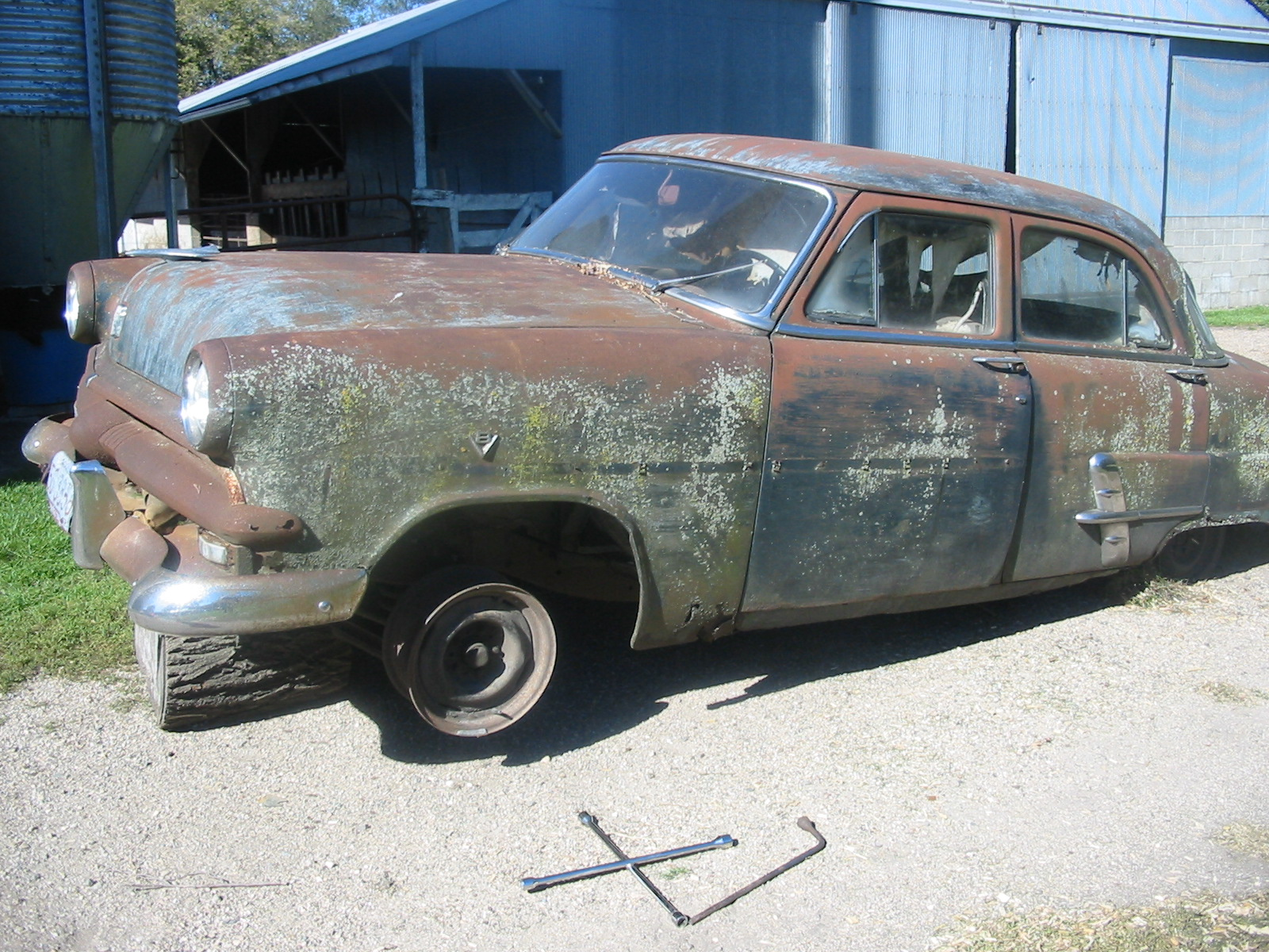 Projects build 1953 ford customline the faraday for 1953 ford customline 4 door