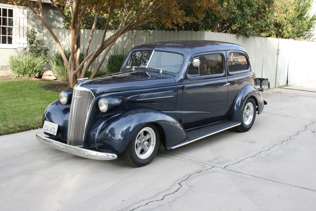 1937 chevy 2 door sedan the h a m b for 1938 chevy 4 door sedan for sale