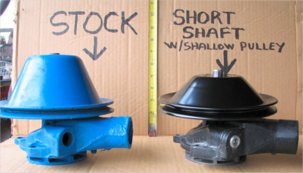 1955 Chevy Truck >> Chevy 1955-1962 Short Shaft water pump kits for 235 & 261 ...
