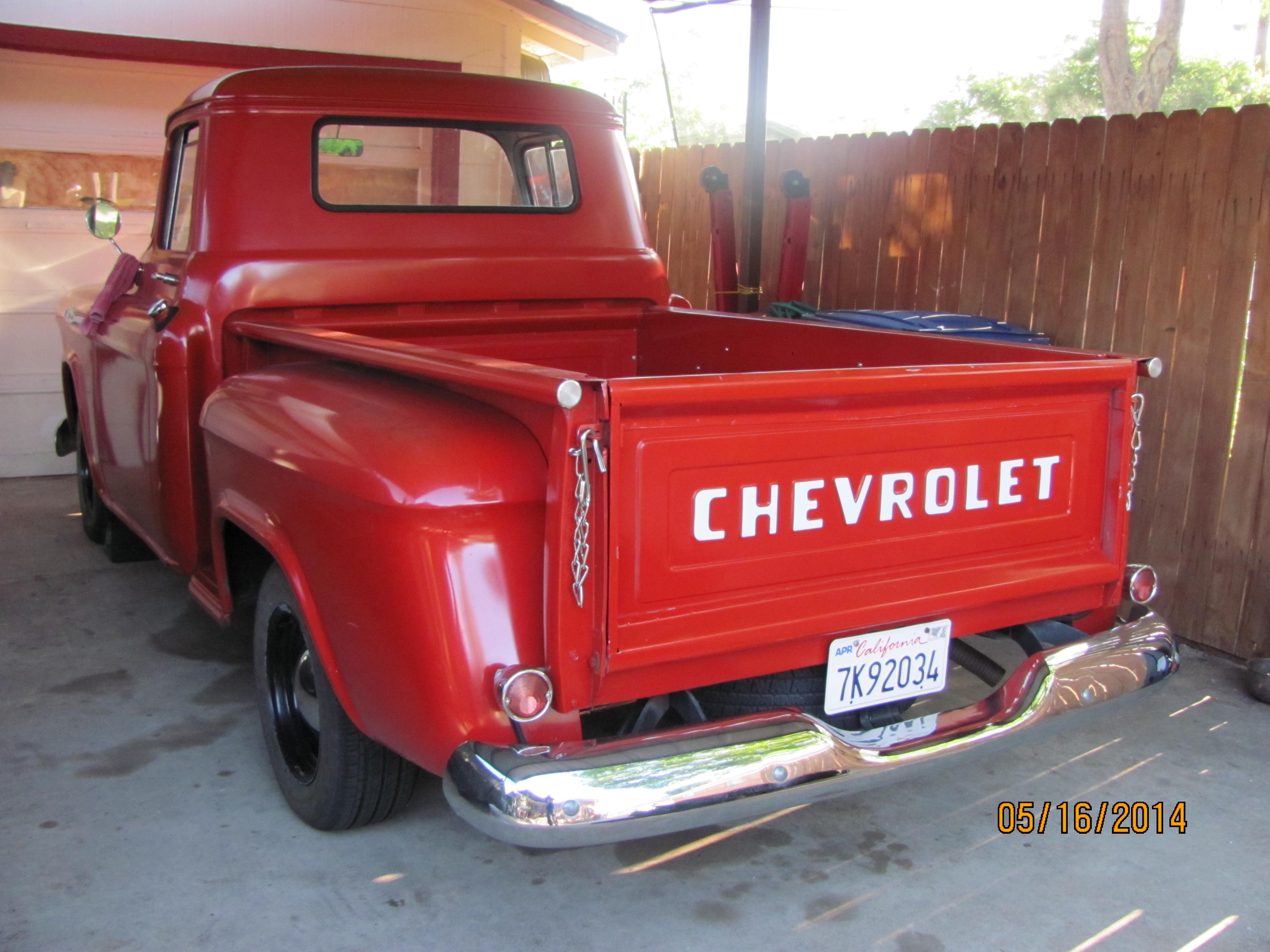 1957 Chevy Truck SWB   The H.A.M.B.