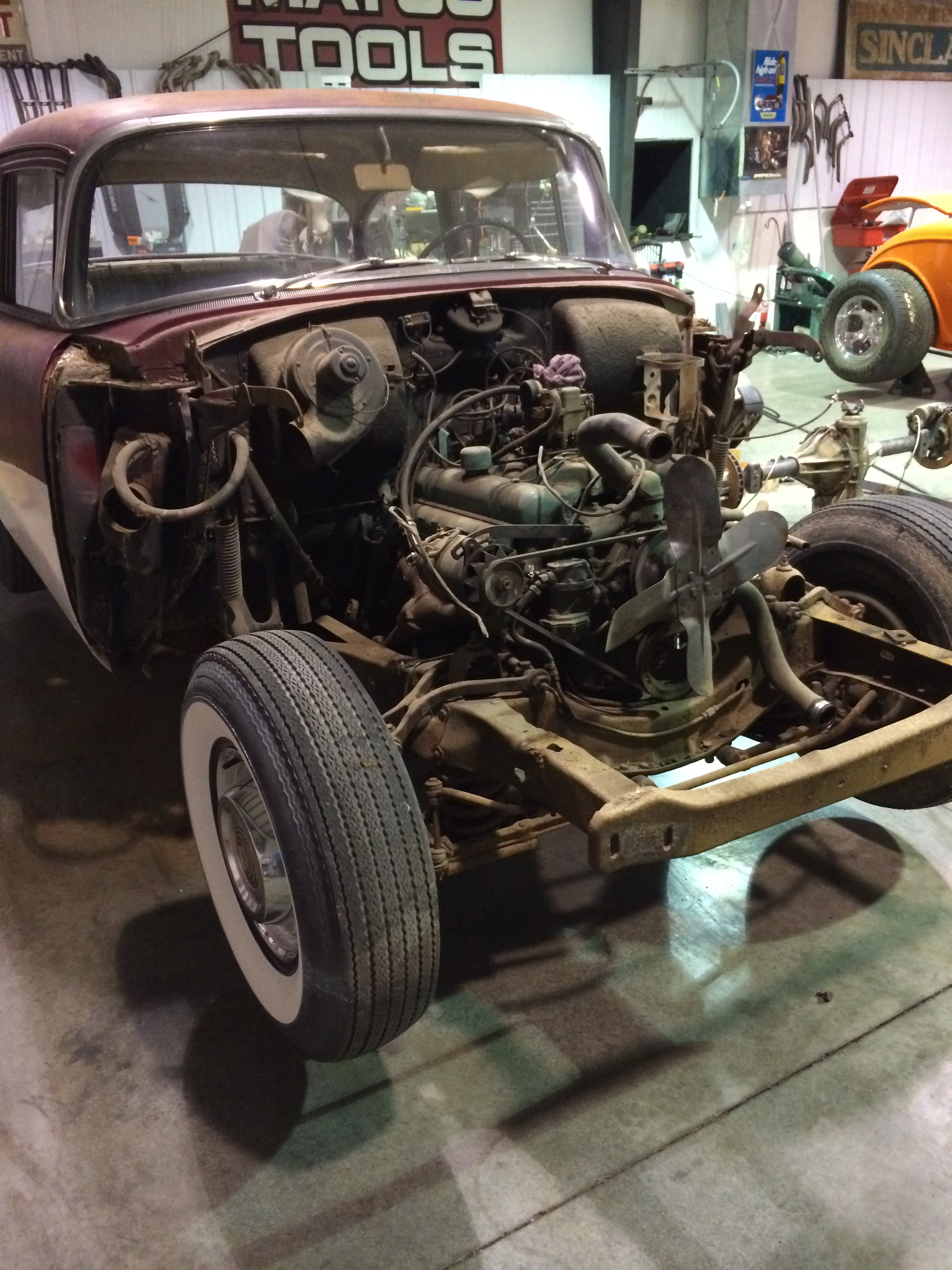 Hot Rods - 1955 Buick Special Old School Gasser Build | The H.A.M.B.