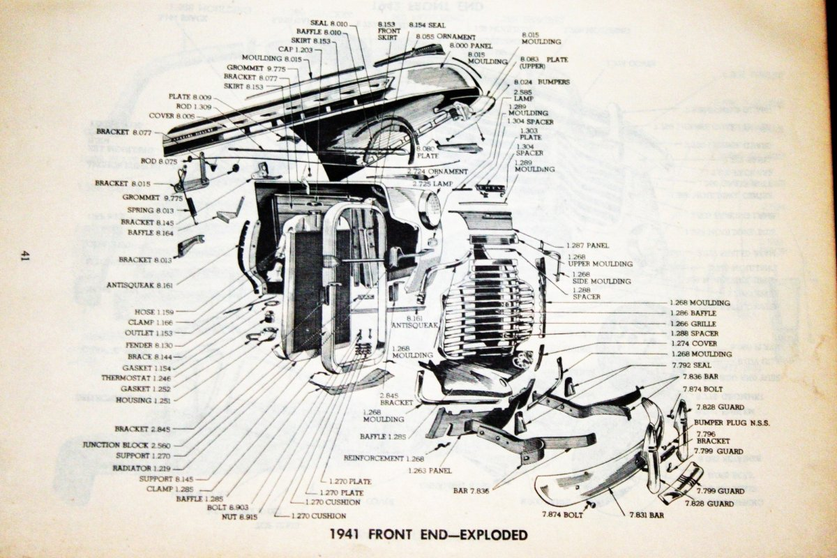 chevy truck front end diagram 1946 chevy 1 5 ton front clip installation diagram  the h a m b  1946 chevy 1 5 ton front clip