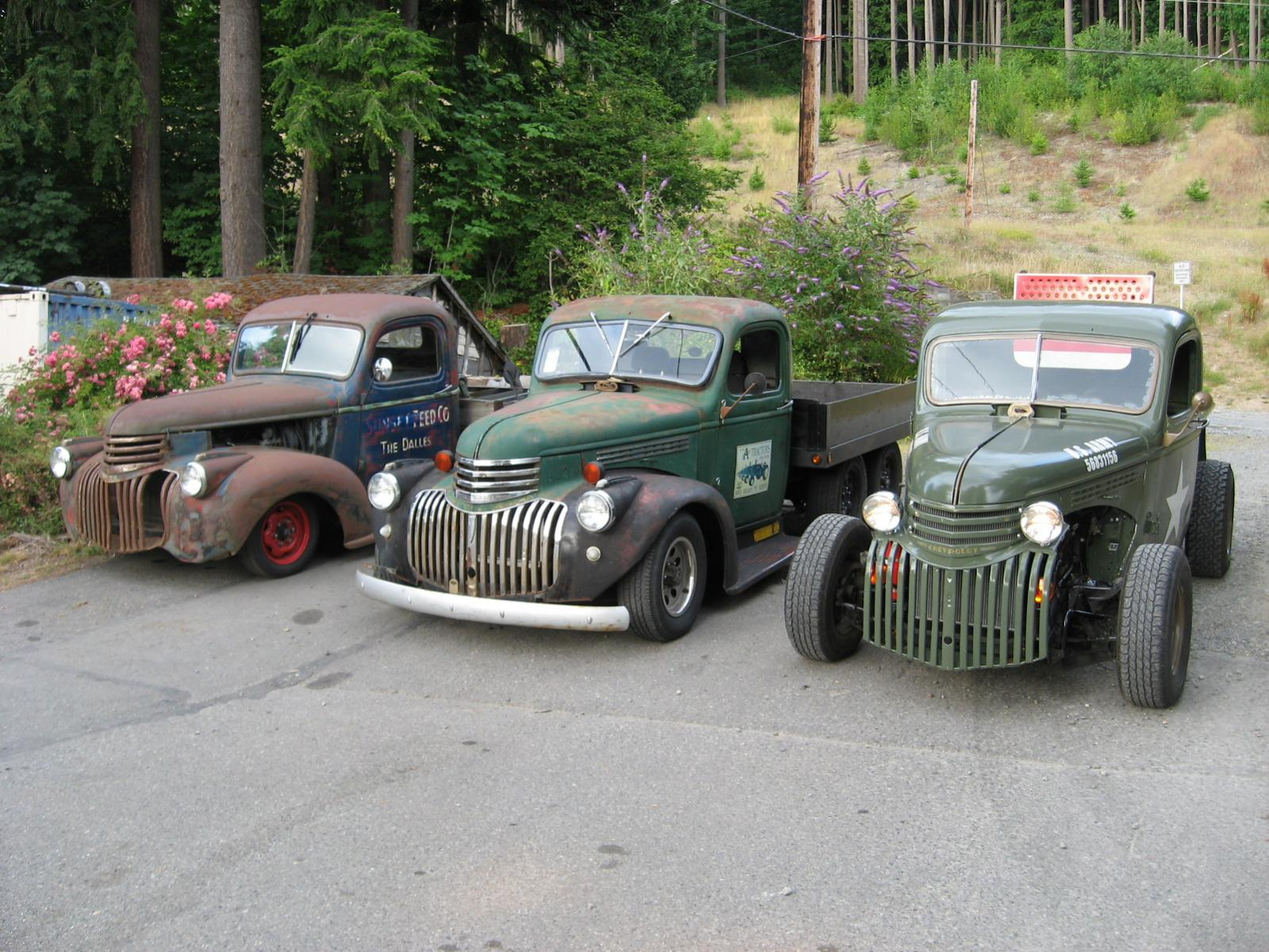 Projects - 1941 Chevy Truck On ShortBed S10 Frame? | The