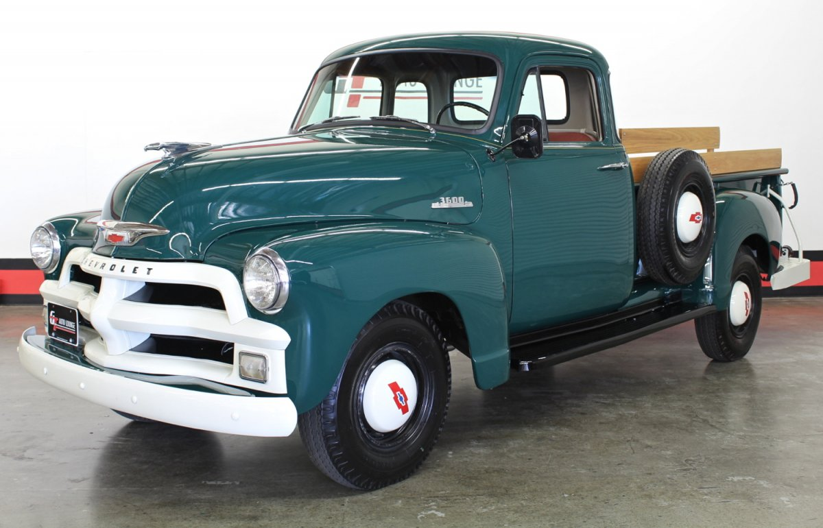 1954 chevy 5 window pickup the h a m b for 1954 chevy truck 5 window