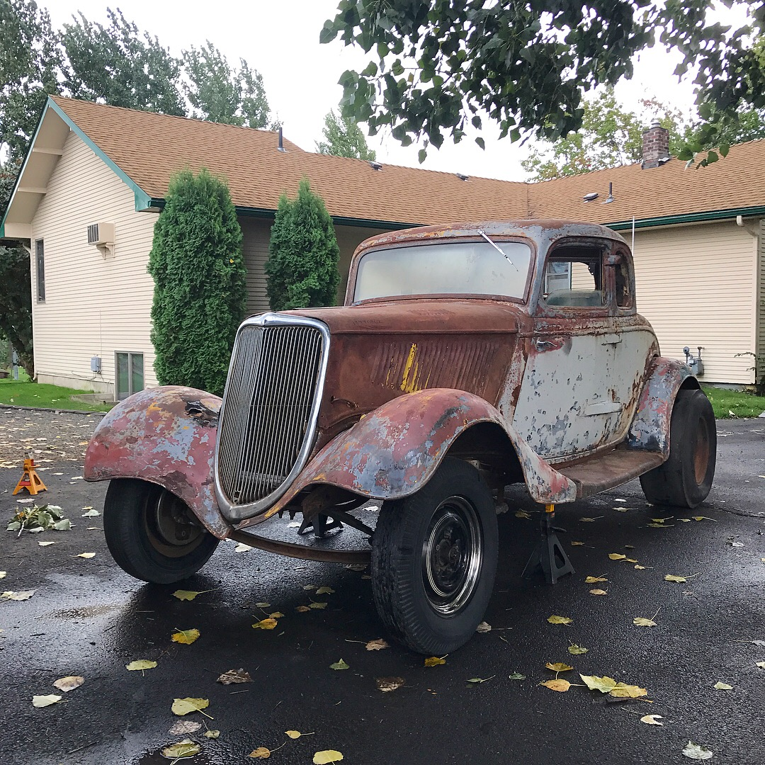 Hot Rods - I bought an old 1934 Ford hotrod out of OK...anyone have ...