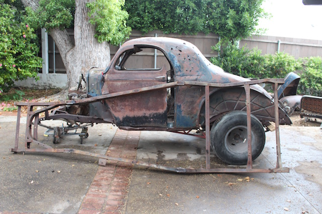 1941 willys gasser frame/chassis | The H.A.M.B.