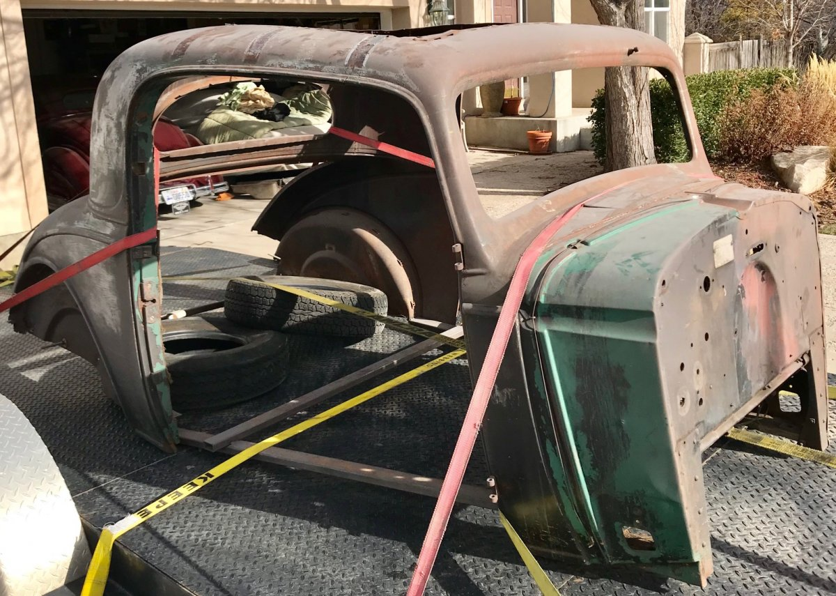 Hot Rods - '34 Chevy Master 3W coupe | The H A M B
