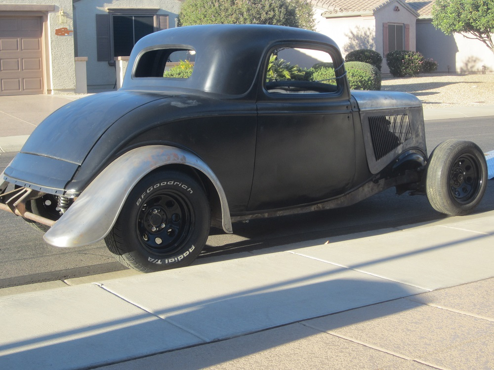 1933 Ford 3 window all steel rumble seat coupe/chassis. & 1933 1934 Ford 3 window steel project | The H.A.M.B. markmcfarlin.com
