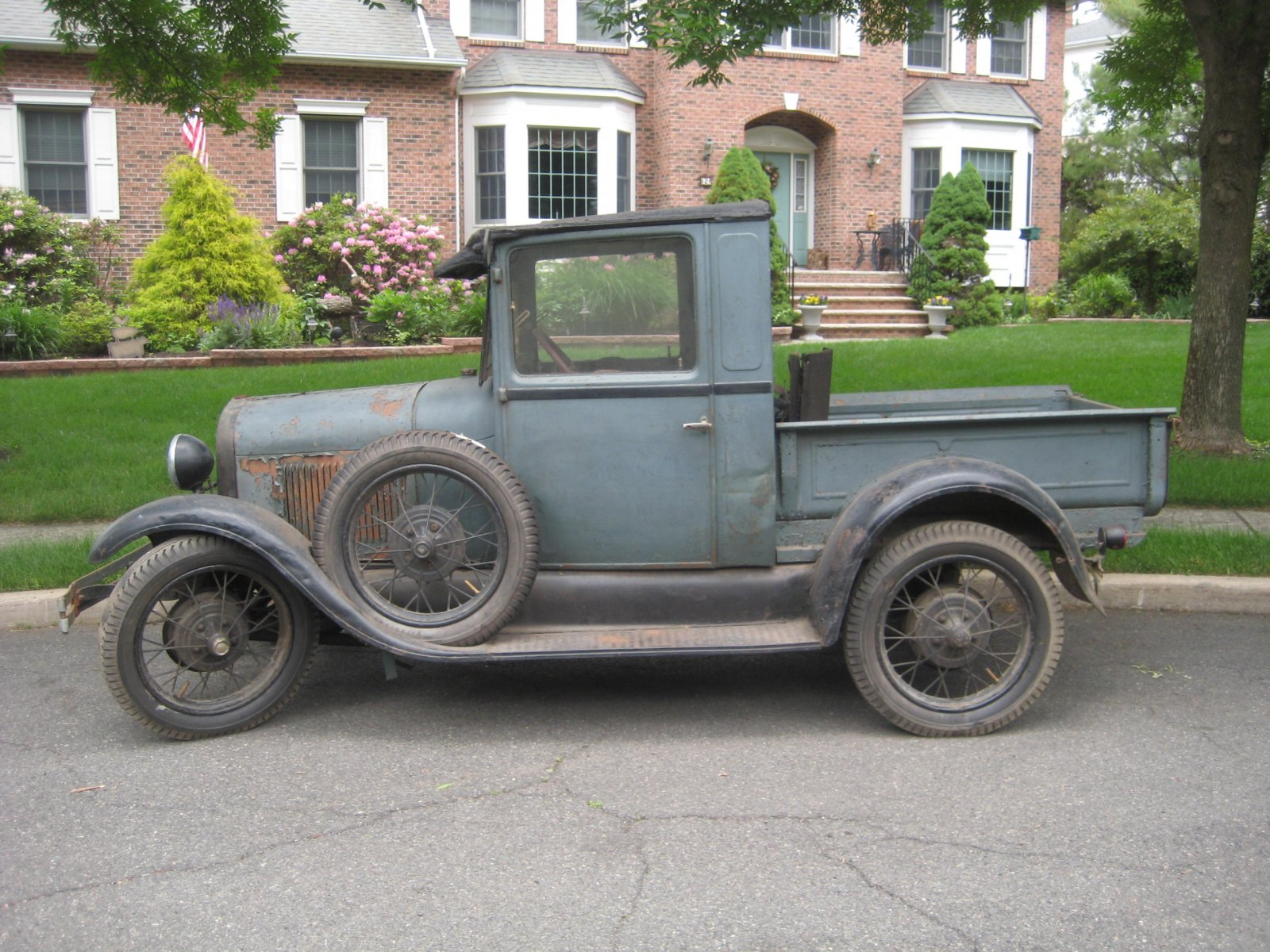 for sale new price original 1928 ford pickup the h a m b. Black Bedroom Furniture Sets. Home Design Ideas