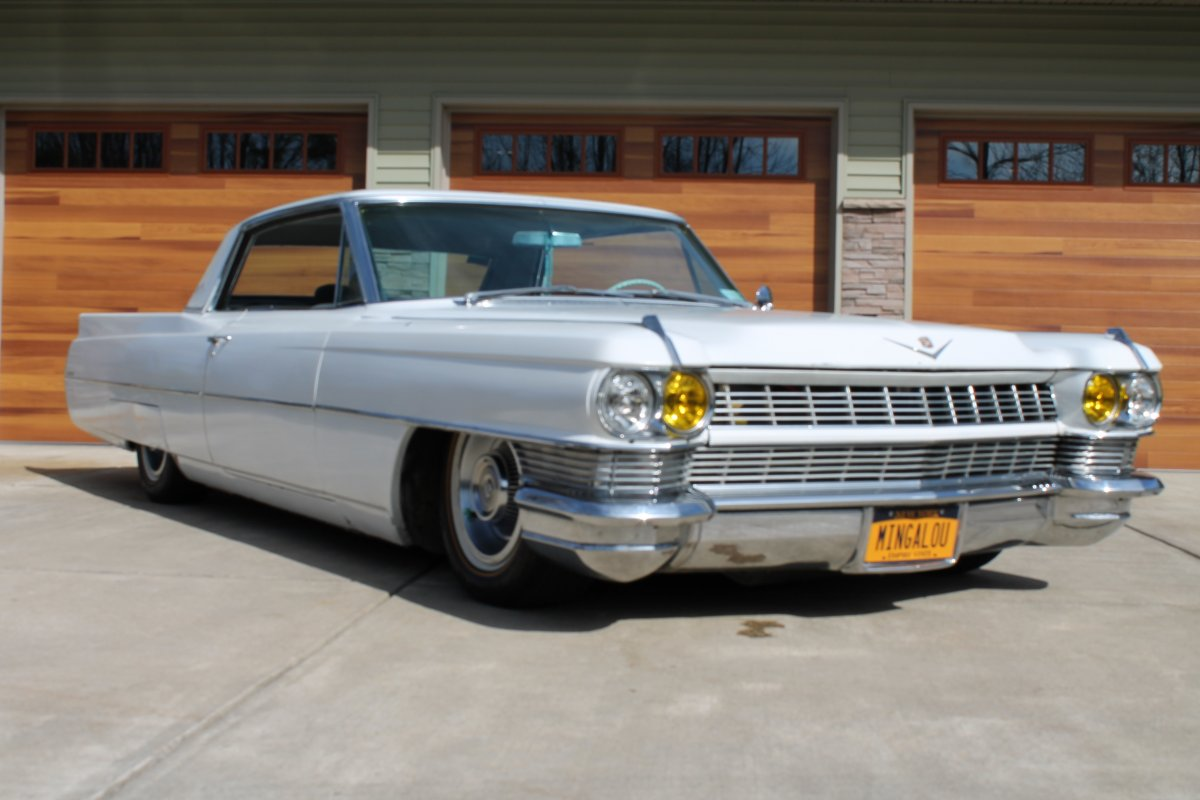 1964 cadillac coupe deville bagged trades considered. Black Bedroom Furniture Sets. Home Design Ideas