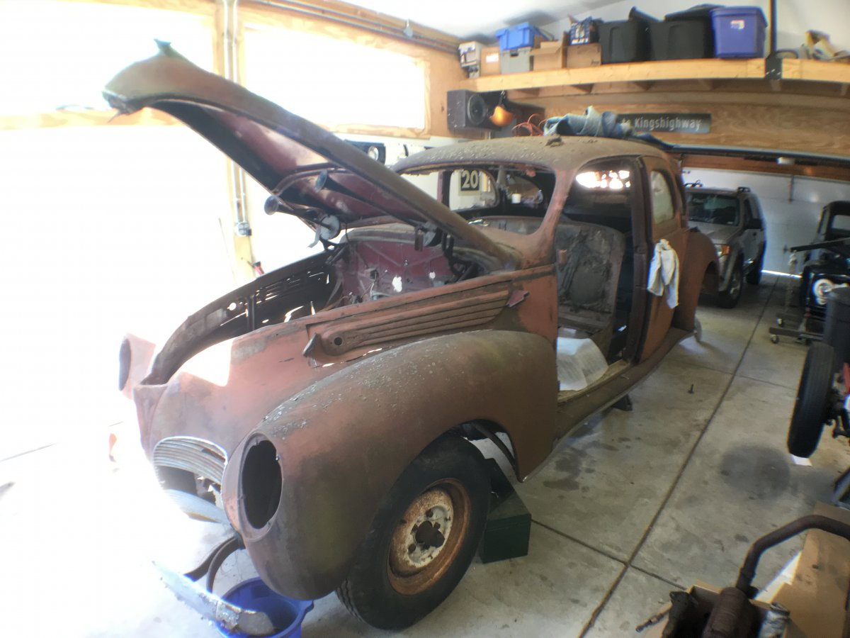 1938 1941 Lincoln Zephyr Parts Sedan