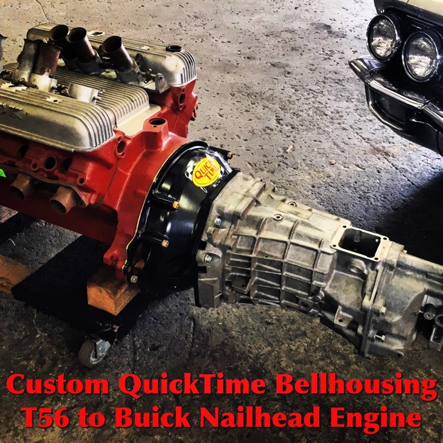 T56 Transmission For Sale >> Custom Quicktime Bellhousing - T56 to 401-425 Buick ...